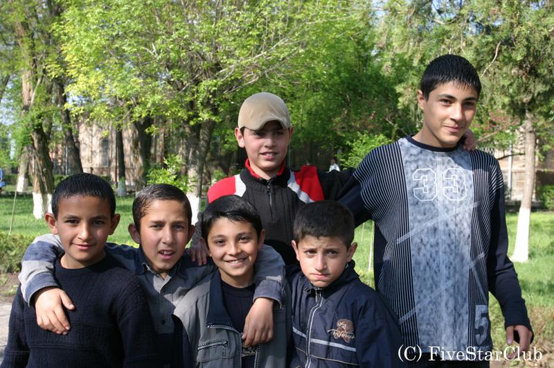 アルメニアの子供たち