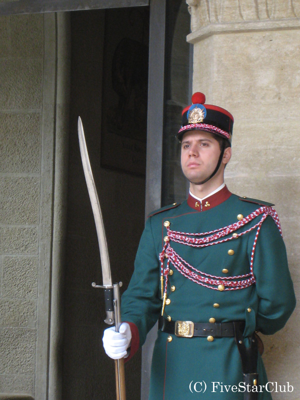 サンマリノの衛兵