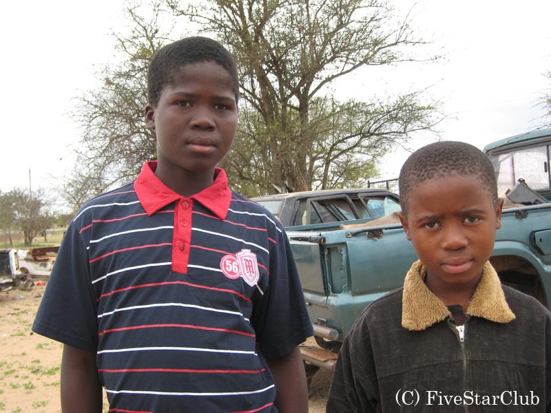 スワジランドの子供たち