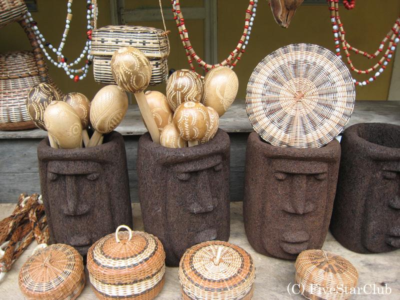 カリブ族の村