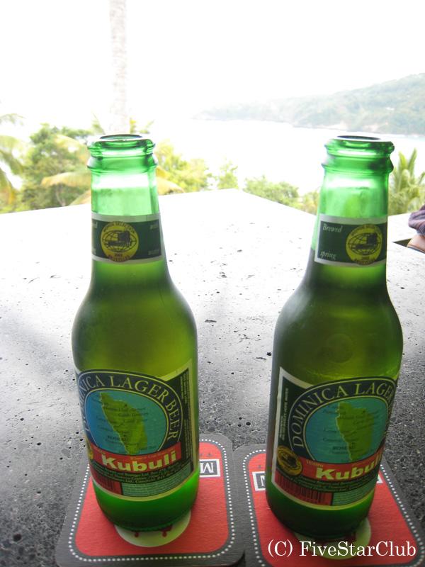 ドミニカ国産ビール・カブリ ビール