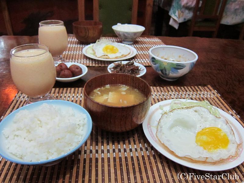 ホテル ペンション園田の 和朝食
