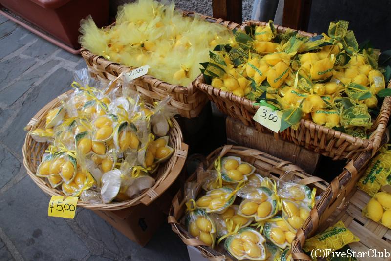 良い香りが漂うレモンのお土産