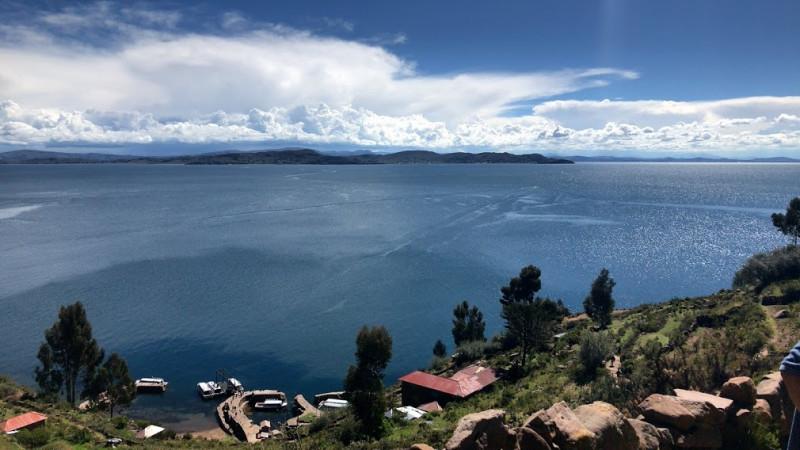 タキーレ島からの眺め