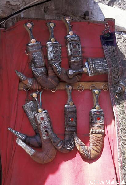 ジャンビーアはイエメンの 男達の必需品