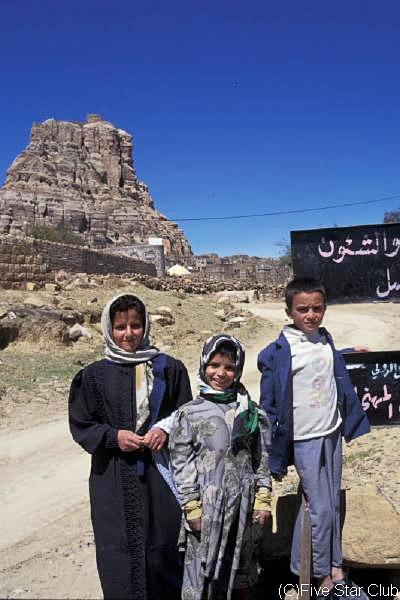 イエメンの人々