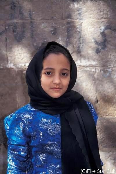 イエメンの女の子