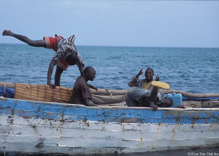 モザンビークの漁民