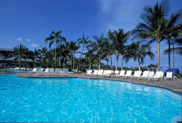 ハワイ島のリゾートホテル