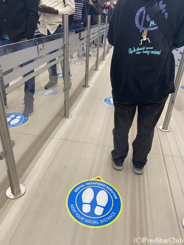 イスタンブール空港 国際線乗り継ぎ 手荷物検査