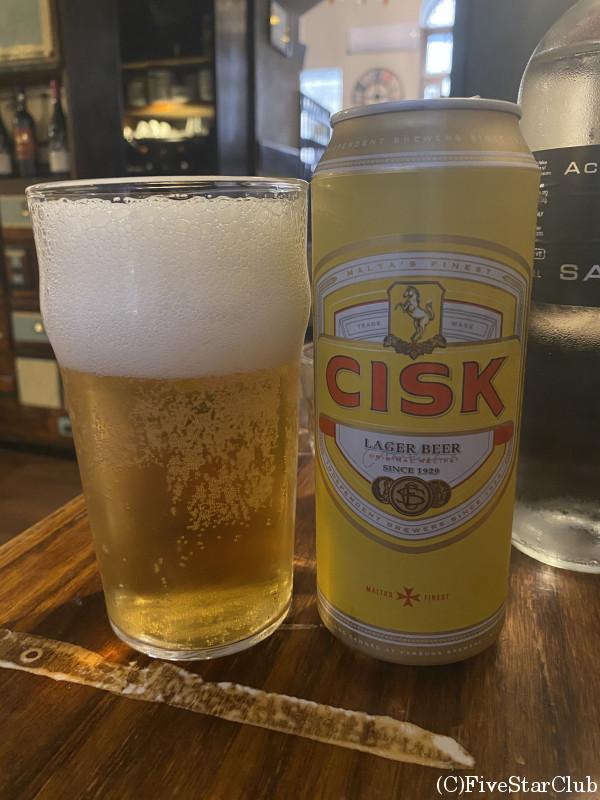 マルタのご当地ビール CISK BEER