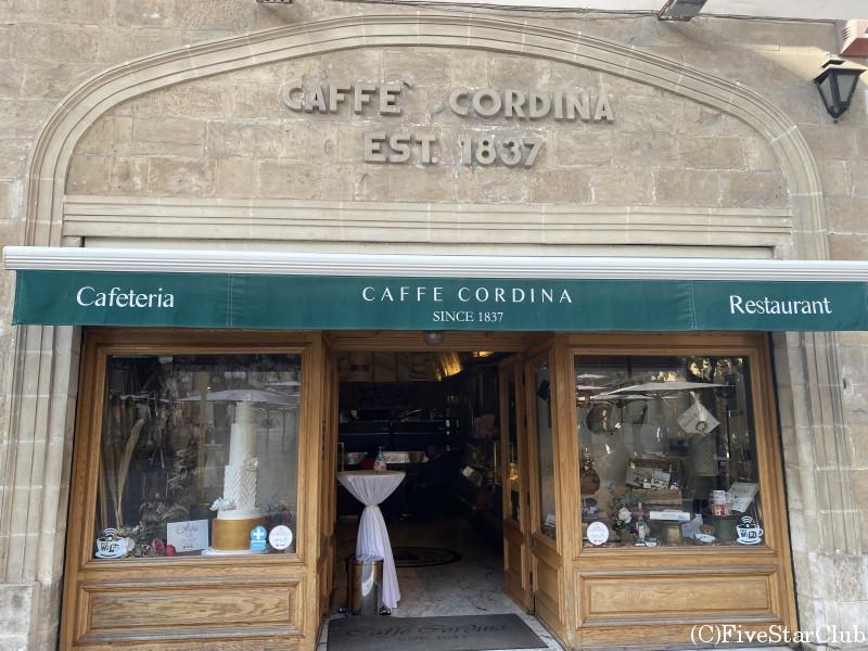 老舗カフェ『CAFFE CORDINA』