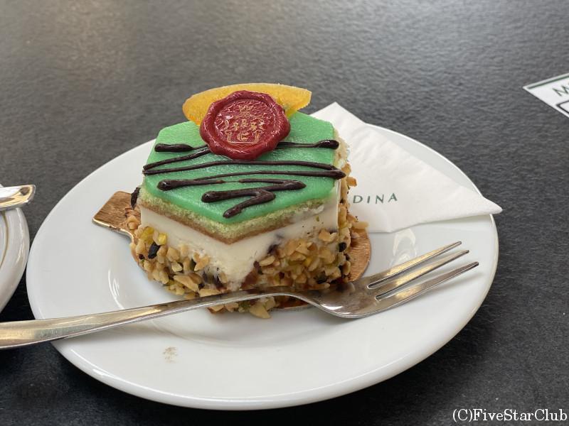 リコッタチーズのケーキ