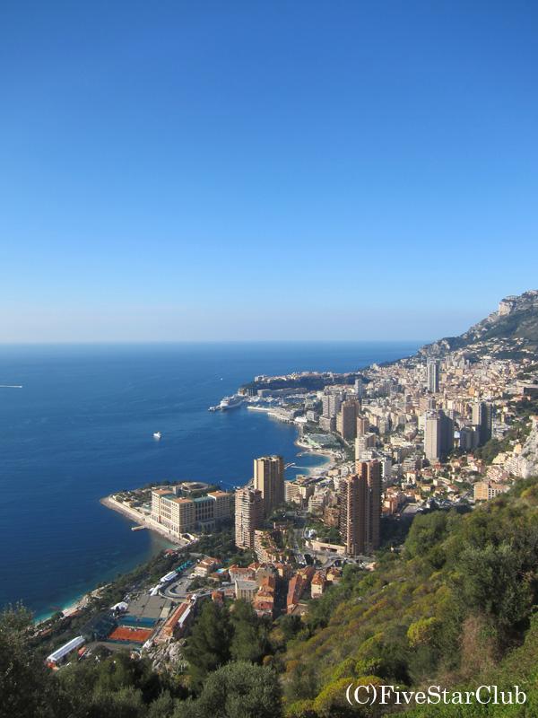 モナコ遠景