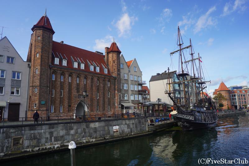 モトワヴァ運河クルーズ 旧市街の眺め