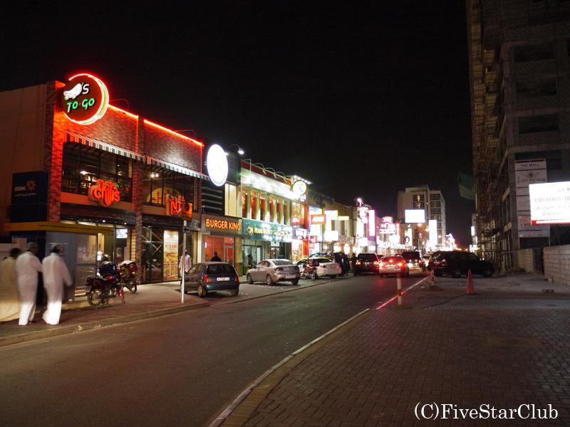 バーレーンの繁華街