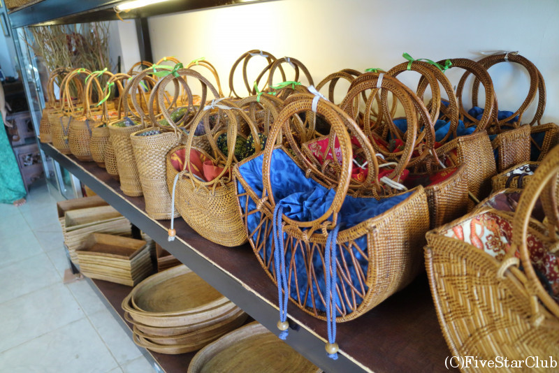 バリ島のアタ製品は丈夫で長持ち