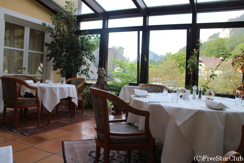 ホテル・ミュラーのレストラン