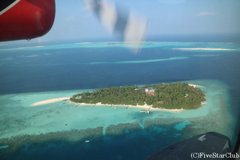 水上飛行機から見える絶景