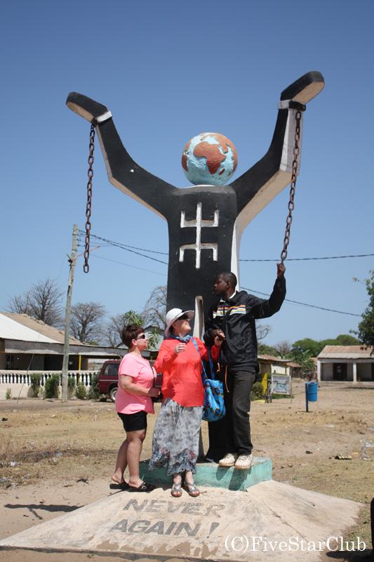 奴隷貿易開放のモニュメント