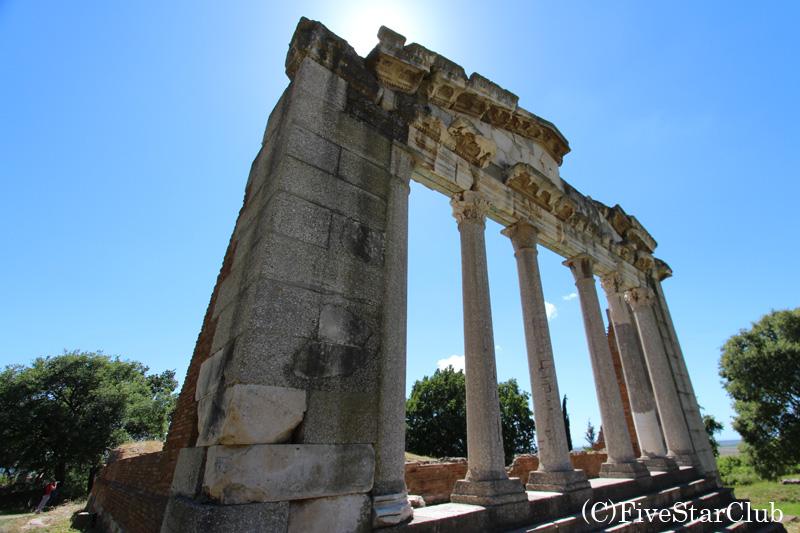 アポロニア遺跡/アゴノテテスの記念館