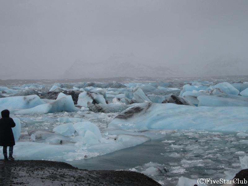ヨークルサルロン氷河湖