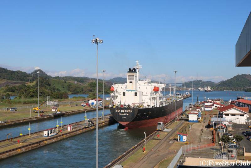 パナマ運河ミラフローレス門