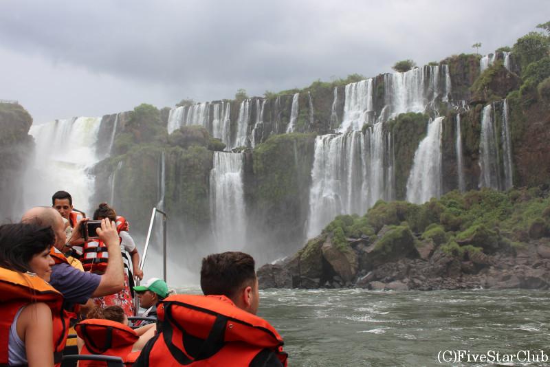 イグアス滝(アルゼンチン側) ボートツアー