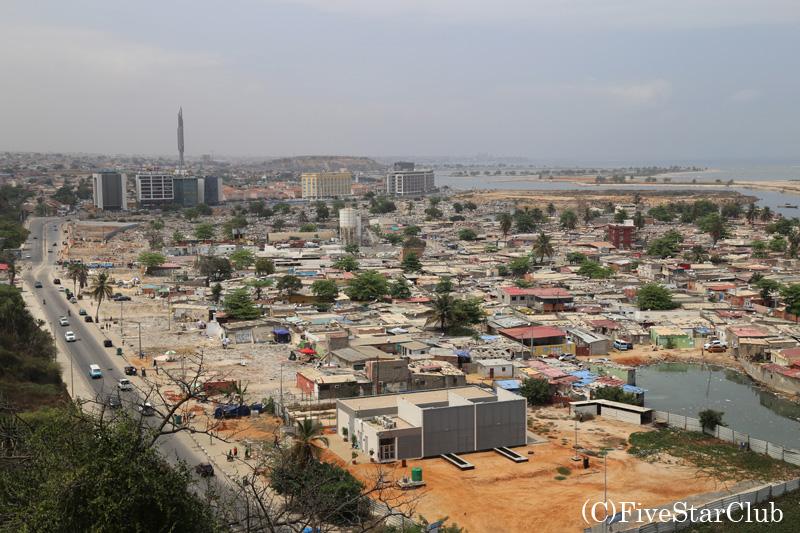 ルアンダ市内眺望