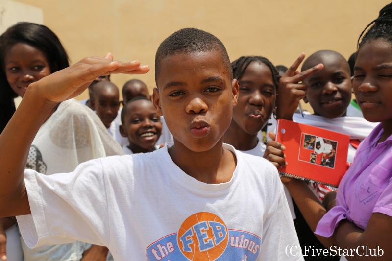 アンゴラの子供たち