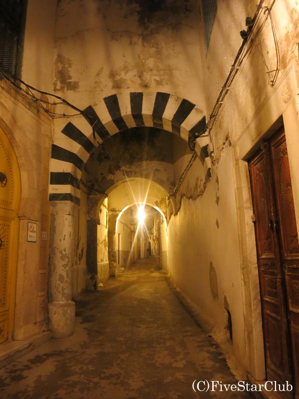迷路のようなメディナ(旧市街)