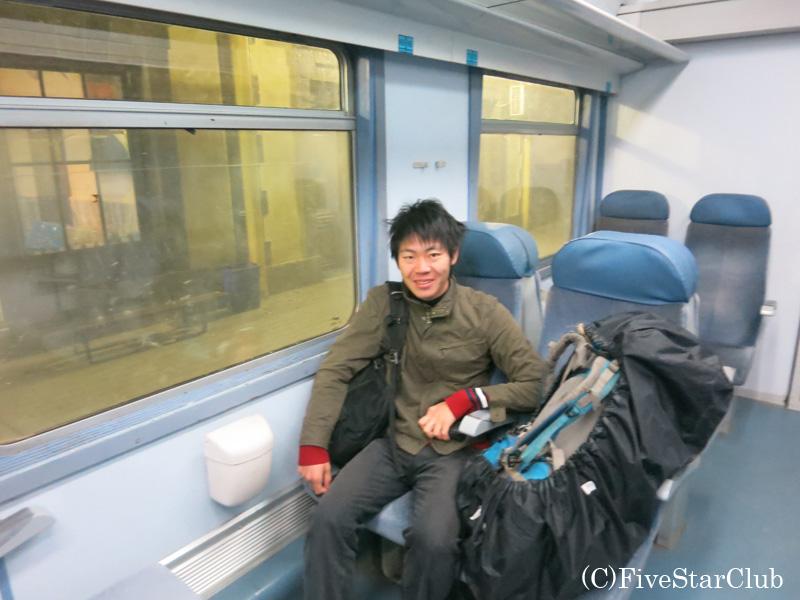 アルジェリアの列車(2等)