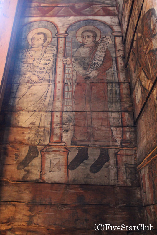 世界遺産ポテリチの木造教会