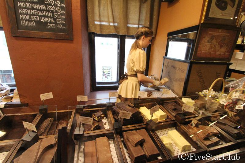 リヴィウはチョコレートでも有名
