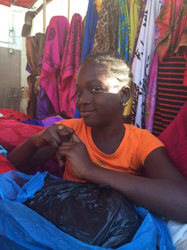 セネガルの女性