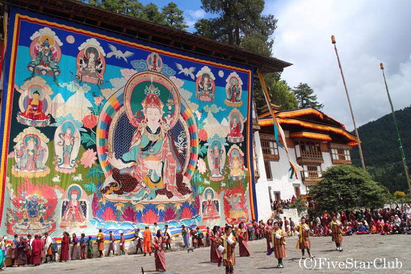 チベット仏教の祭クジェ・ツェチュ