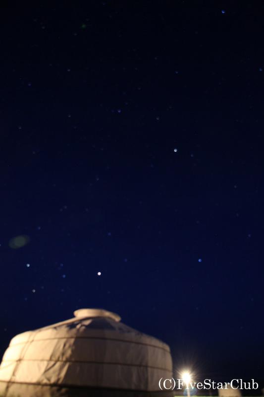 南ゴビの星空
