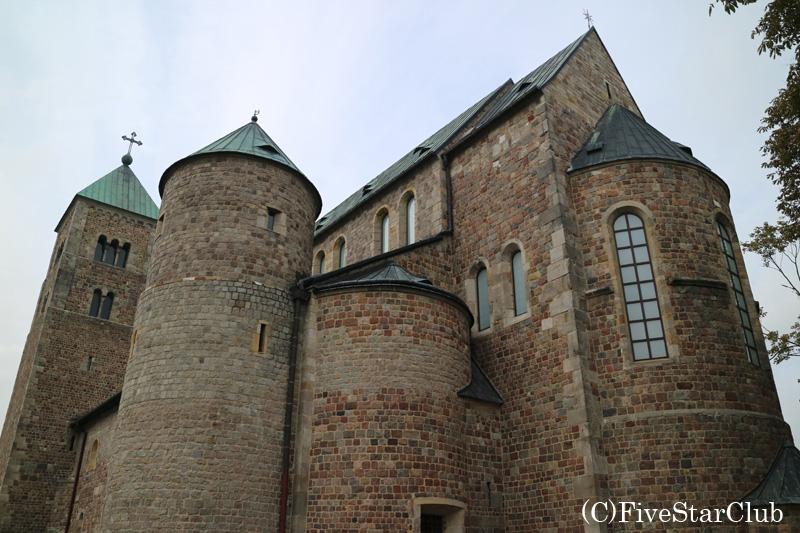 お城のような教会