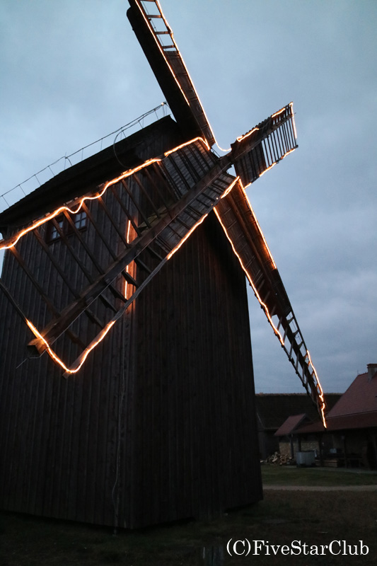 ウニェユフの風車