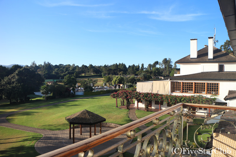 マウント・ケニア・サファリ・ロッジ 部屋からの眺め