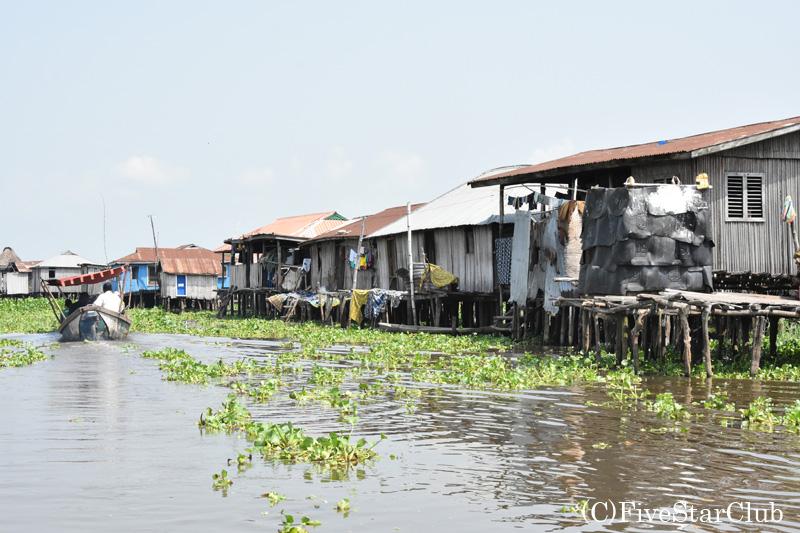 世界遺産のガンビエ水上集落