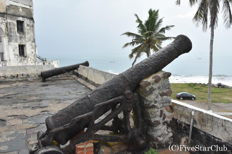 世界遺産エルミナ城 カノン砲