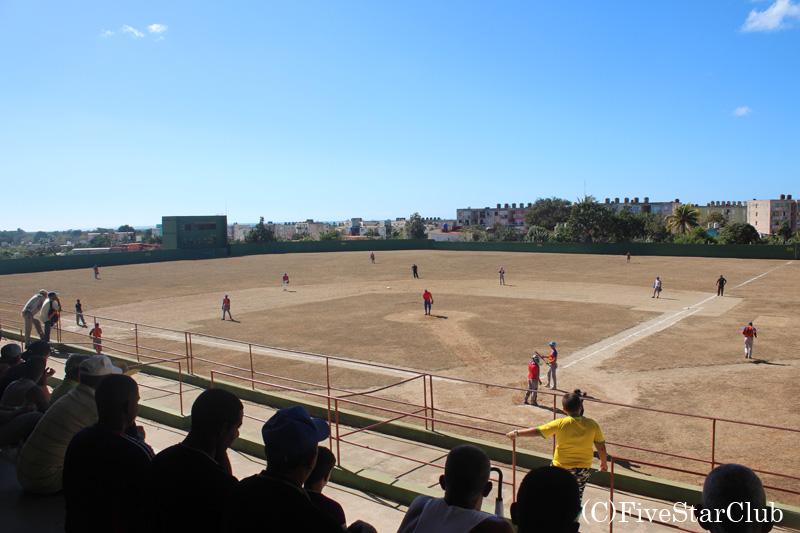 キューバ野球観戦