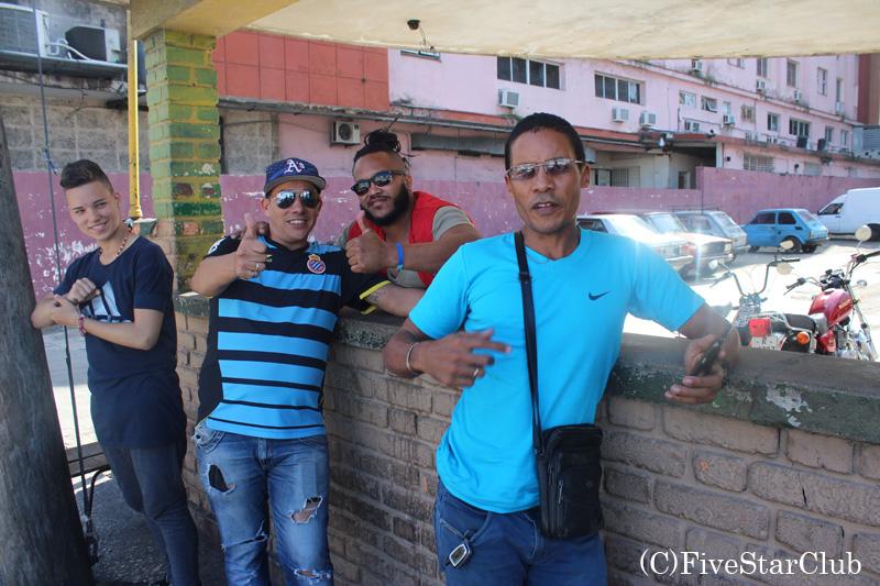 陽気なキューバ人