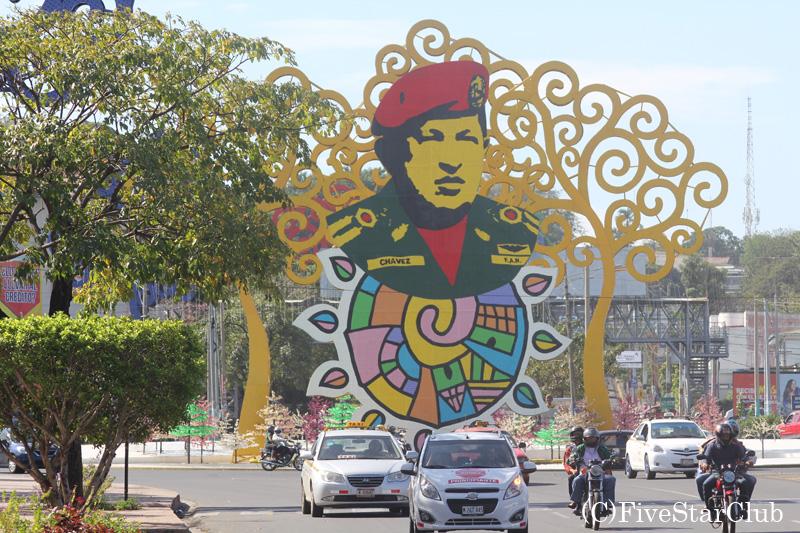 マナグアの街並み