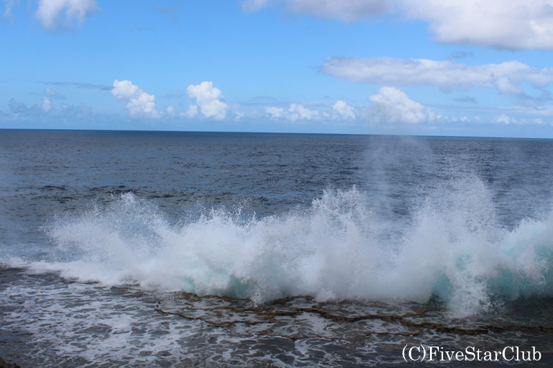 ホウマの潮吹き穴
