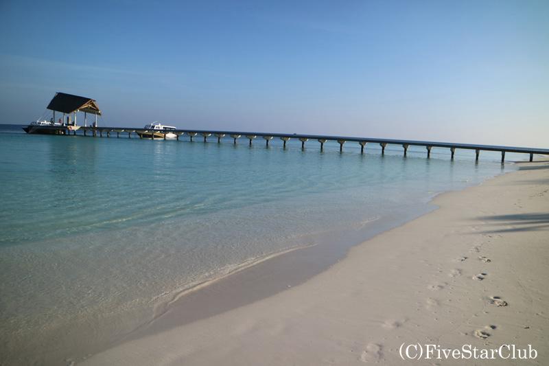 Amari Havodda Maldives/海辺を散歩