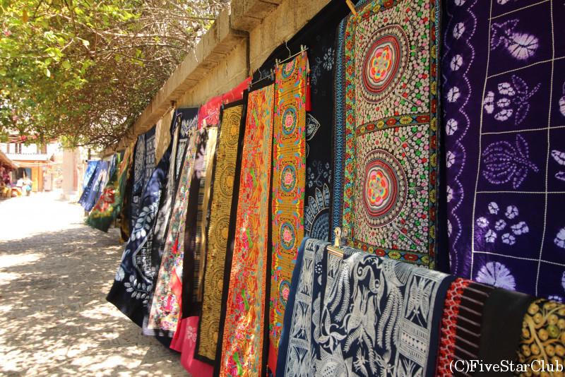 白沙村/伝統工芸の藍染/伝統工芸の藍染めは色んな模様