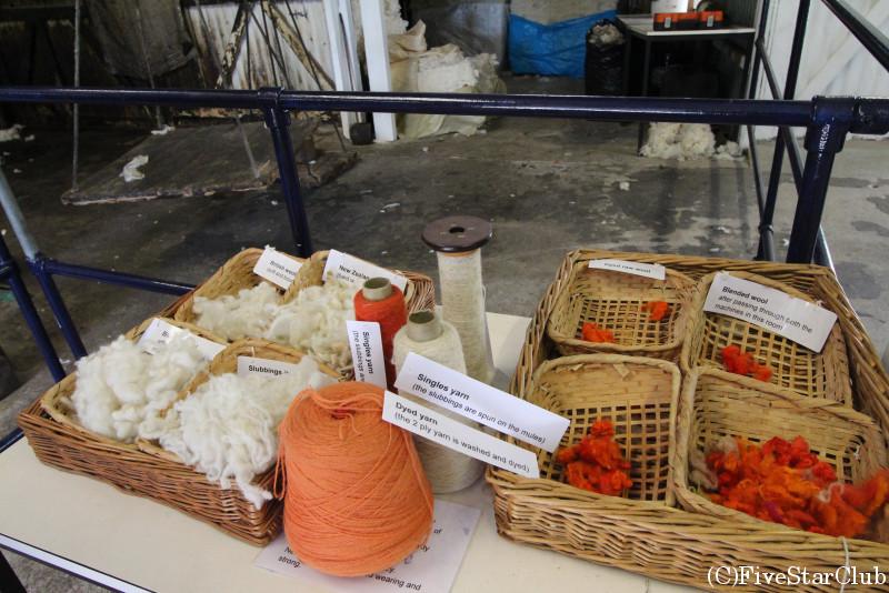 トレヴァリュー羊毛工場