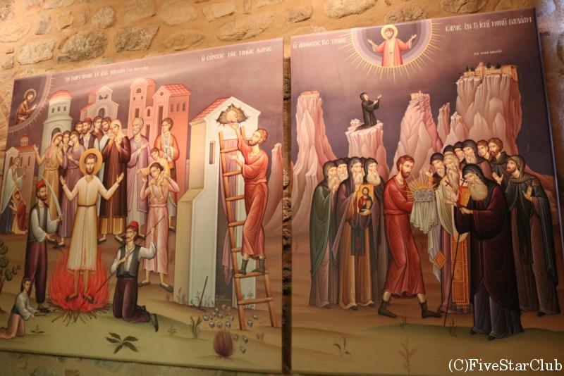 メガロ・メテオロン修道院中の博物館